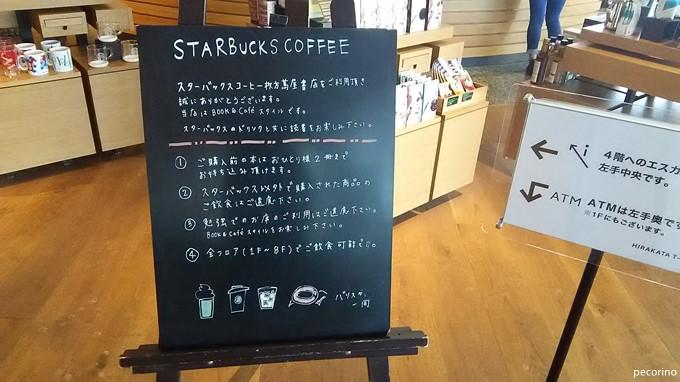 スターバックスコーヒー枚方蔦屋書店