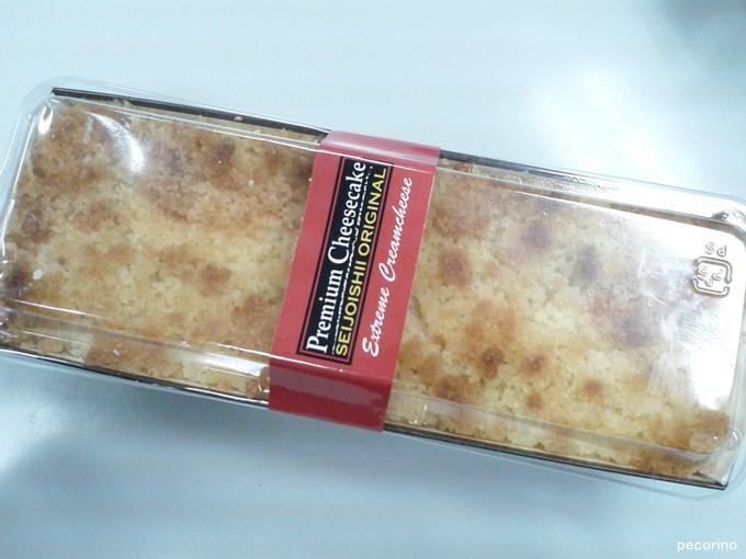 成城石井のプレミアムチーズケーキは定番たる風格です