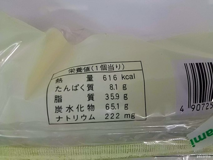 まさかの616キロカロリー
