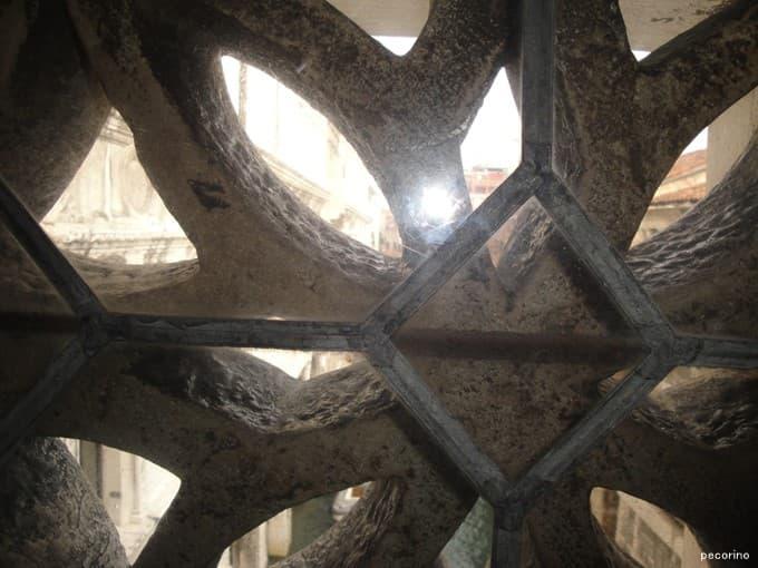 ため息橋から見たヴェネツィア…ほとんど見えない